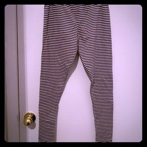 Full length cotton leggings